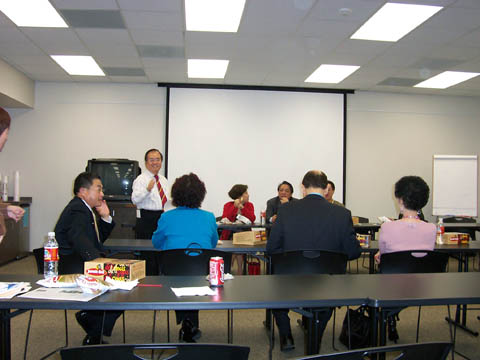 Asian American Business Council Board Meeting