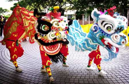 Chinese New Year Celebration: Lion Dance