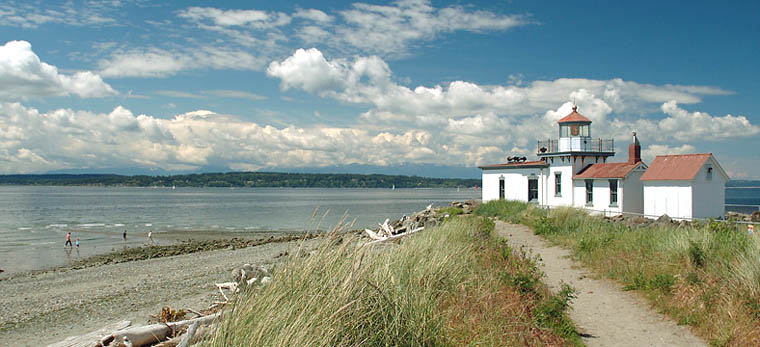 Discovery Park in Seattle, Washington