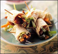 Tiny Peking Duck Rolls