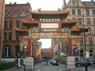 Manchester, England Chinatown