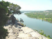 The view on top of Mount Bonnell
