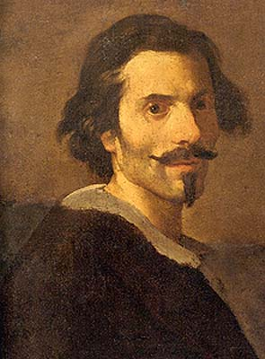 Gianlorenzo Bernini self portrait